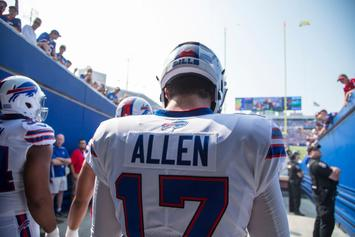 Buffalo Bills Rookie QB Josh Allen Named Week 2 Starter