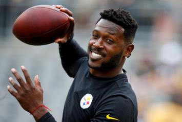 Antonio Brown Apologizes For Threatening ESPN Writer