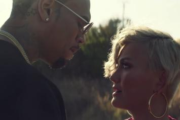 "Chris Brown Gets Close To Agnez Mo In Her ""Overdose"" Video"