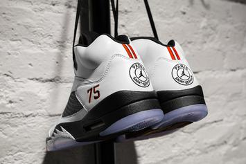 "Air Jordan 5 x Paris Saint-Germain ""Friends & Family"" Colorway Surfaces"