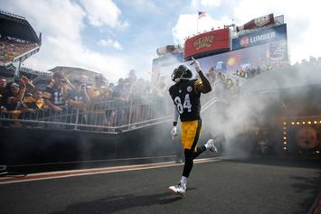 Antonio Brown Skipped Steelers Practice On Monday: Report