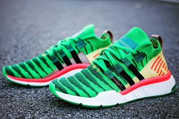 "Dragon Ball Z x Adidas EQT Support ""Shenron"" Revealed In Detail"