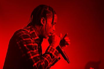 Travis Scott Pays His Respects To Mac Miller With Emotional Vegas Show Freestyle