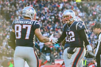 "Patriots vs Lions: Rob Gronkowski ""Not Going Anywhere Without Brady"""