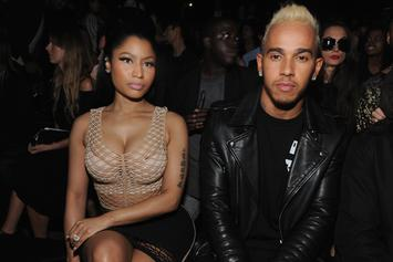 Nicki Minaj & Rumoured Boo Lewis Hamilton Spotted Together In Dubai