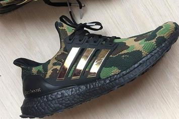 BAPE x Adidas UltraBoost Collab Surfaces: First Look