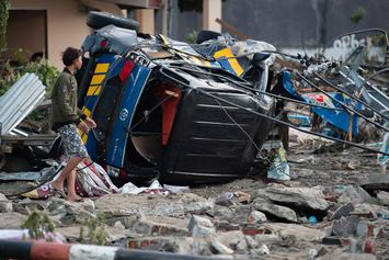 Indonesian Earthquake And Tsunami Kill At Least 380; Injure Hundreds More