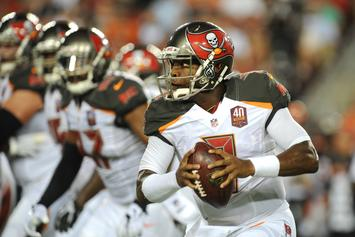 Jameis Winston Replaces Ryan Fitzpatrick In 2nd Half Of Buccaneers' 48-10 Loss
