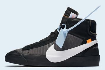 Off-White x Nike Blazer Mids Releasing Tomorrow Via Nike SNKRS Draw