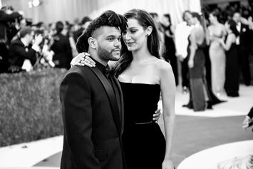 The Weeknd Blesses Bella Hadid With His Cross Chain