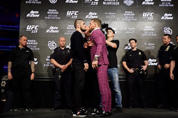 UFC 229 McGregor vs Khabib Press Conference: Live Stream