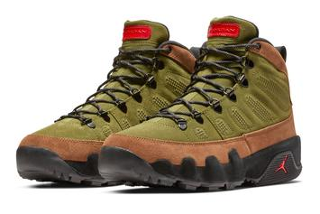 Air Jordan 9 Boots Releasing In Multiple Colorways This Weekend