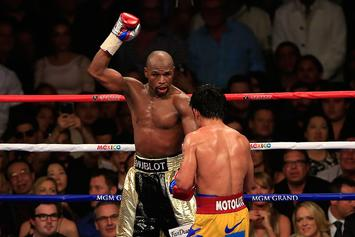 "Floyd Mayweather Reportedly ""Deadly Serious"" About Pacquiao Rematch"