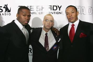 Rumors Of Eminem, Dr. Dre & 50 Cent Collaboration Sparked By Director's Posts