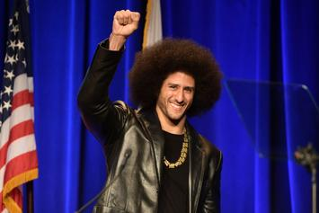Colin Kaepernick Files To Trademark Image Of His Head