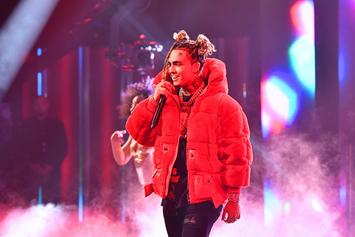 "Lil Pump Urinates On Stacks Of Cash Because He Got ""Bored"""