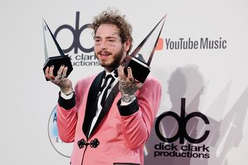 "Post Malone Attempts To ""Go Undercover"" In A Record Store"