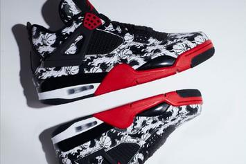 "Air Jordan 4 ""Tattoo"" To Release In Celebration Of Singles' Day"