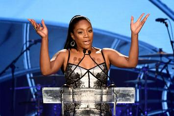 "Tiffany Haddish Shades ""Bitter Ass B*tch"" During ""Women Of Power"" Acceptance Speech"