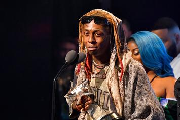 "Lil Wayne Accepts ""I Am Hip-Hop"" Award At 2018 BET Hip Hop Awards"