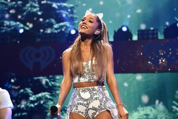"""Ariana Grande Covers """"Pete"""" Tattoo With Band-Aid: First Post-Breakup Performance"""