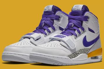 """Lakers"" Jordan Legacy 312 Releasing Soon: New Images"