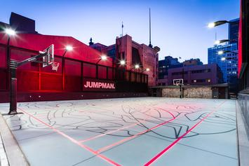 Jordan Brand Reveals New Los Angeles Store With Rooftop Basketball Court