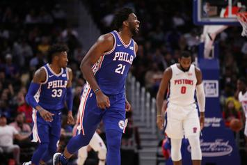 """Joel Embiid On Andre Drummond: """"I Own A Lot Of Real Estate In His Head"""""""