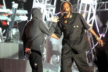 Eminem & Snoop Dogg Chop It Up Like Old Times