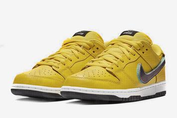 Diamond Supply Co. x Nike SB Dunk Low Surfaces In Yellow Colorway