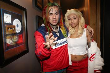 "6ix9ine's Girlfriend Destroys Cuban Doll: ""She Looks Like A Walking Disease"""
