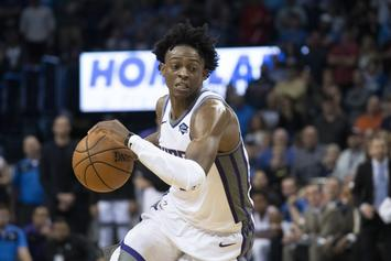 "De'Aaron Fox Joins LeBron James In Elusive ""Triple-Double Club"""