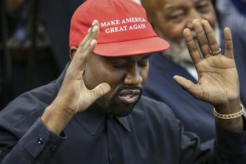 "Kanye West & Candace Owens  Still Friends After Her Lies & ""Blexit"" Sales Boom: Report"
