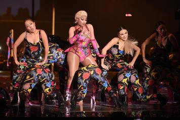 "Nicki Minaj Brings ""Good Form"" & ""Woman Like Me"" To MTV EMAs"