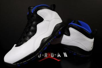 "Air Jordan 10 ""Orlando"" Releasing For First Time Since 1995"