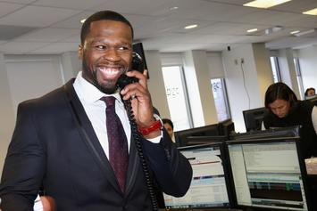 """50 Cent Reignites Feud With Busta Rhymes After """"Blocking"""" Ja Rule"""