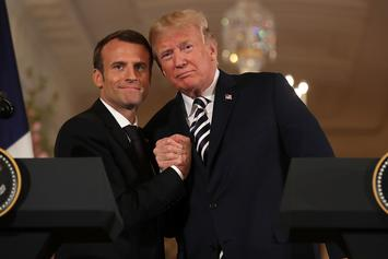 Emmanuel Macron May Have Thrown Shade At Donald Trump Over Twitter Diplomacy