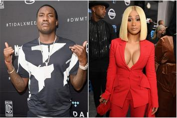 Meek Mill & Cardi B's Collaboration Sounds Like A Banger