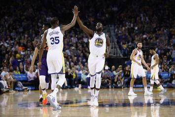 """Draymond Green Speaks On Kevin Durant Feud: """"We're Moving Forward"""""""