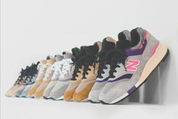 KITH x New Balance Sneaker & Apparel Collection Unveiled