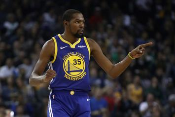"Kevin Durant Scolds Court Side Fan: ""Watch The Game And Shut The F*ck Up"""
