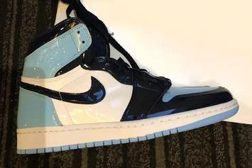 "Patent Leather ""UNC"" Air Jordan 1 For All-Star Weekend: Detailed Look"