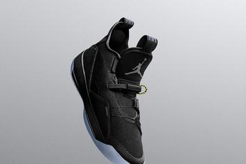 "Air Jordan 33 ""Utility Black"" Set To Debut Tomorrow"