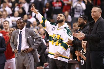 Drake Performs Intimate Show In Toronto Following Raptors Game
