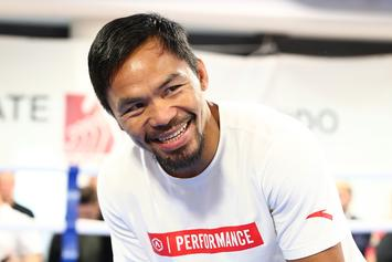 Manny Pacquiao Still Yearns For Floyd Mayweather Rematch