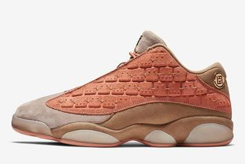 CLOT x Air Jordan 13 Low Release Details Announced