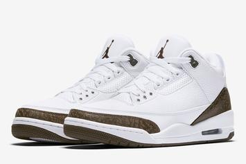 "Air Jordan 3 ""Mocha"" Returning For First Time Since 2001: Official Images"