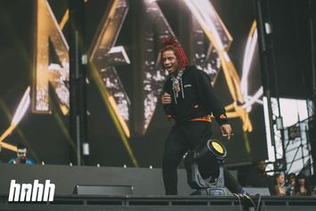 """Trippie Redd Gifts Himself Crazy Clock Chain Showing Love To """"Life's A Trip"""""""