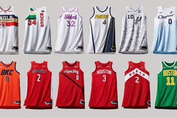 "Nike Reveals NBA ""Earned Edition"" Jerseys For Last Year's Playoff Teams"