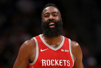 "NBA Refs' Statement On James Harden's Step-Back: ""We Missed This One"""